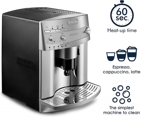 De'Longhi ESAM3300 Super Automatic EspressoCoffee Machine