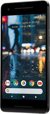 Google Pixel 2 64GB Unlocked GSMCDMA 4G LTE Octa-Core Phone w 12.2MP Camera - Just Black