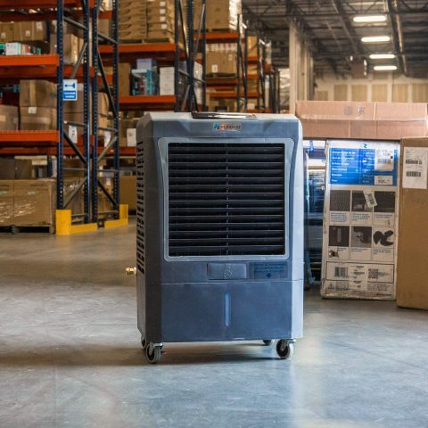 HESSAIRE 3,100 CFM Portable Evaporative Cooler wAutomatic Controls