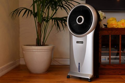 Luma Comfort EC110S Portable Evaporative Cooler with 250 Square Foot Cooling, 500 CFM