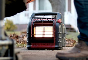 Mr Heater F274865 F274865-MassachusettsCanada Portable LP Heater,Red,Regular