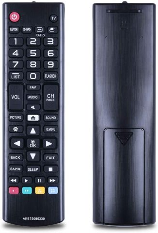 New AKB75095330 Replace Remote Control for lg tv Remote, Fit for 28MT42DF 43LJ5000 32LJ500UB 28LJ400B-PU 32LJ500B-UB 43LJ5000-UB
