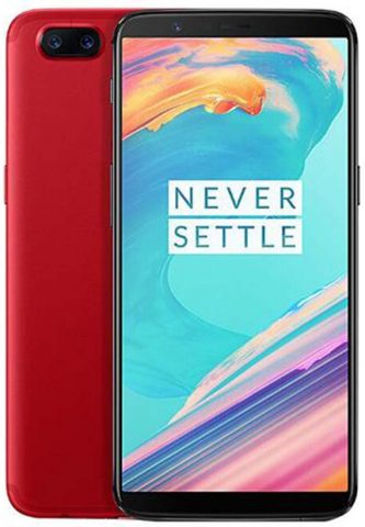 OnePlus 5T A5010 128GB Red, Dual Sim, 6.01, 8GB RAM, GSM Unlocked International Model, No Warranty