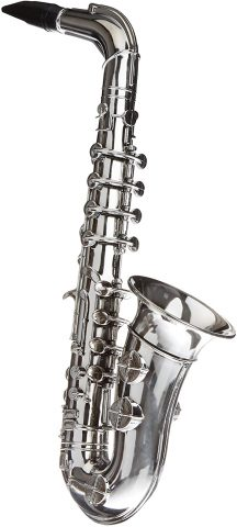 REIG Top Fiesta 8-Note Metal Plated Saxophone from Toys