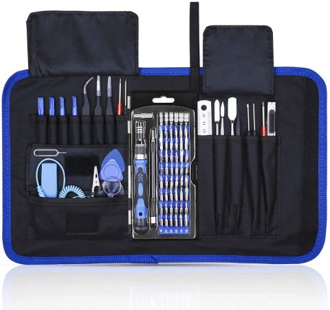 Rarlight Screwdriver Set with Magnetic Driver Kit, Professional Electronics Repair Tool Kit with Portable Oxford Bag for Laptop, iPhone, iPad, Cellphone, Watch, PC, Computer, Camera (001)