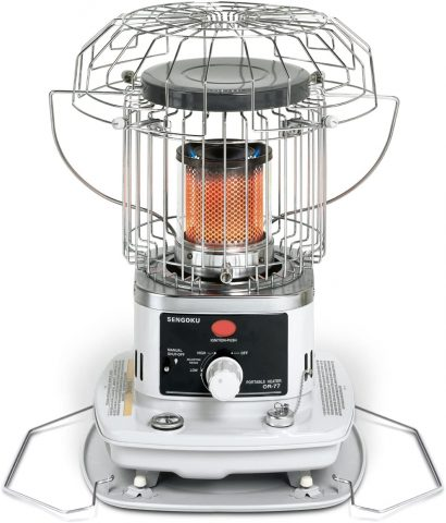 Sengoku HeatMate 10,000-BTU Portable IndoorOutdoor Omni-Radiant Kerosene Heater, OR-77
