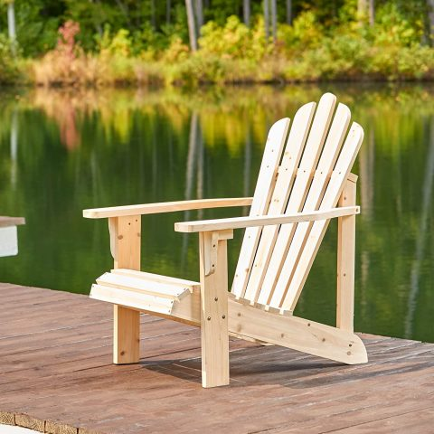 Shine Company Inc. 4611N Westport Adirondack Chair, Natural