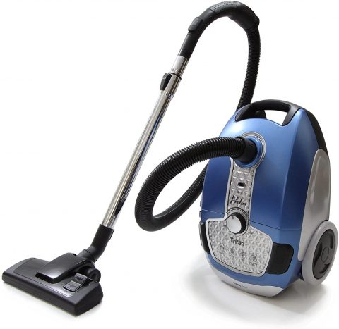 Tritan Bagged Canister Vacuum with HEPA Filtration