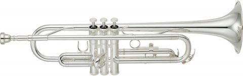 Yamaha Trumpet Bb YTR 2330S Standard SILVER With Semi-Hard case