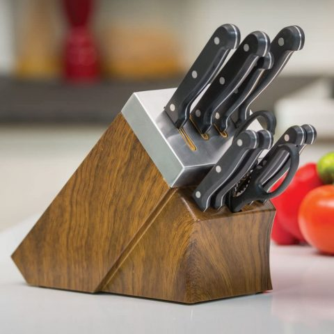 Chef's Edge Self-Sharpening Cutlery