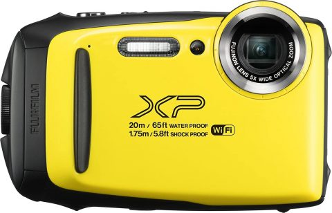 Fujifilm FinePix XP130 Waterproof Digital Camera w16GB SD Card - Yellow