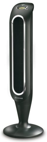 Honeywell Fresh Breeze Tower Fan with Remote Control HYF048 Black with Programmable Thermostat, Timer Shut-Off Function & Dust Filter, The Best Tower Fan