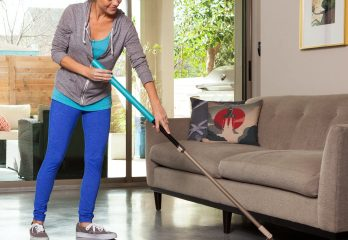 SnapMop Microfiber Mop System Reusable, Adjustable, Lightweight, Makes Cleaning Your Floors a Snap